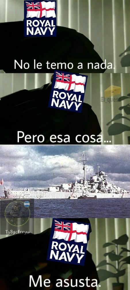 Orgullo de la Kriegsmarine - meme