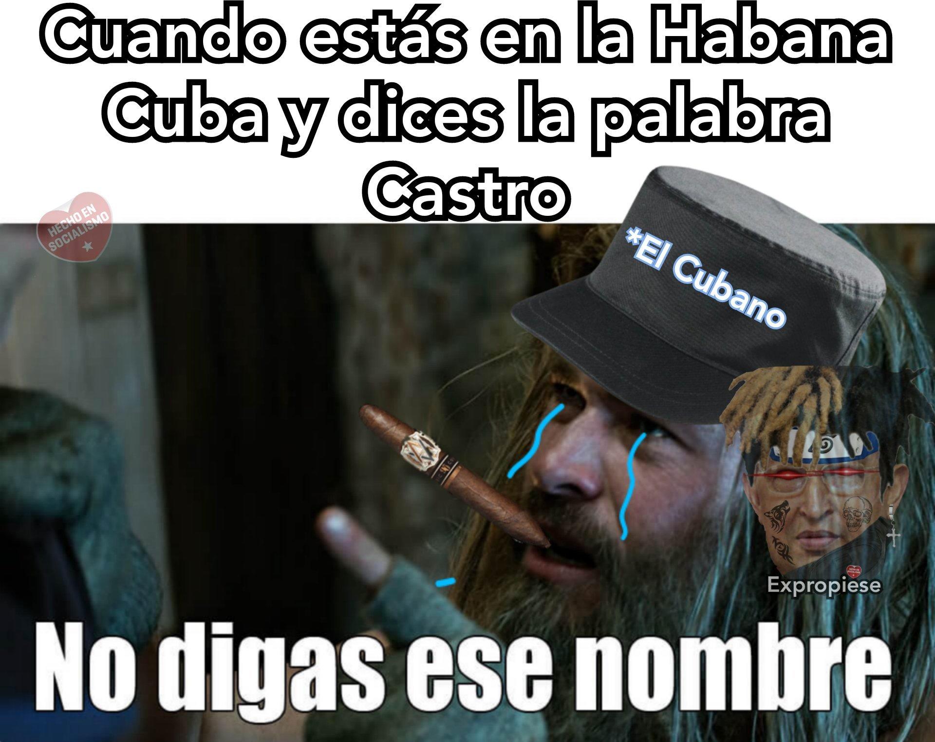 Esos Cubanos son unos crack sobrevivieron 40 años de dictadura (ノ*0*)ノ - meme