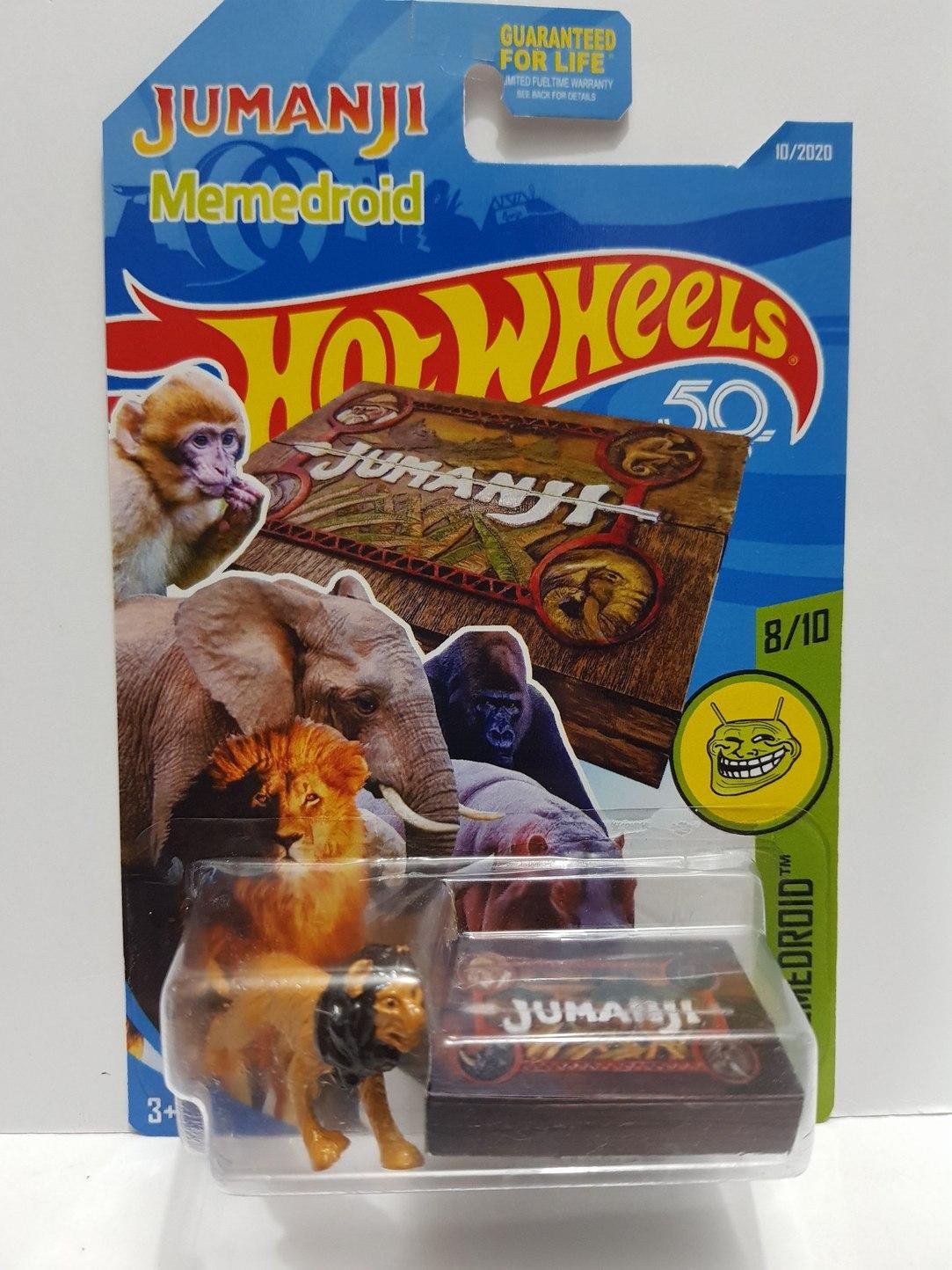 Jumanji hotwheels - meme
