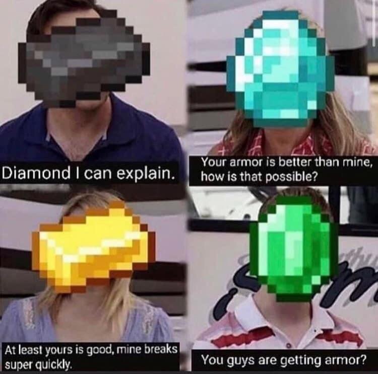 super funny minecraft memes