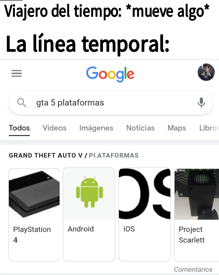 Google what the fuck? - meme