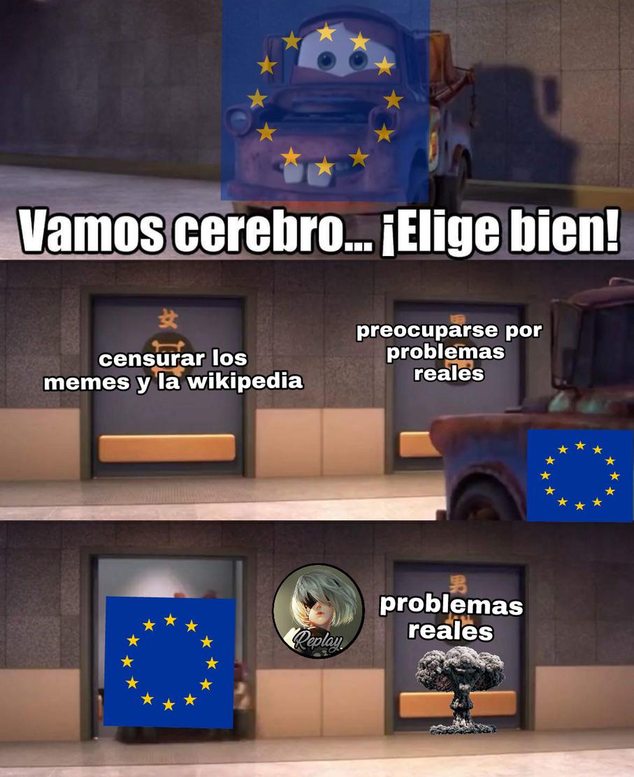 Desocupados (pinche gobierno carenalga) - meme