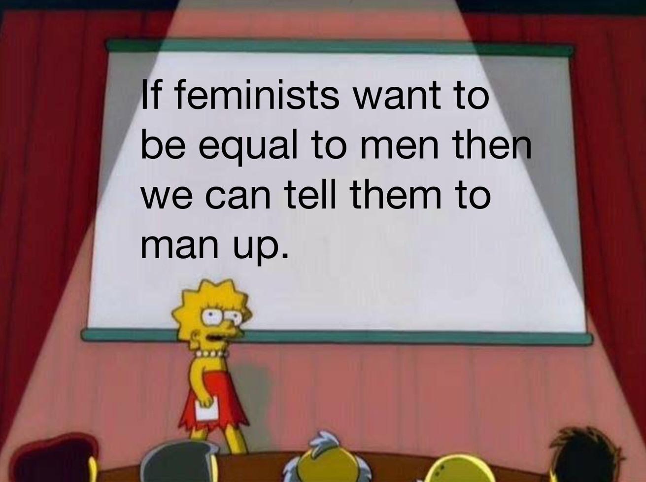 Man up - meme