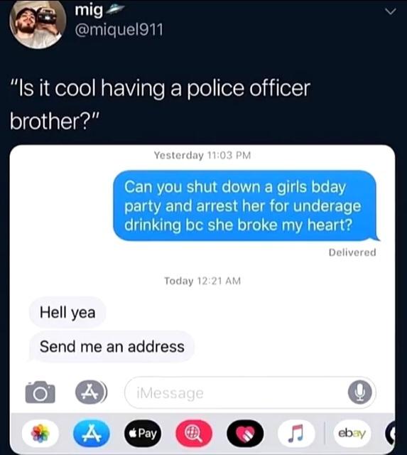 police officer bro - meme