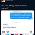 police officer bro