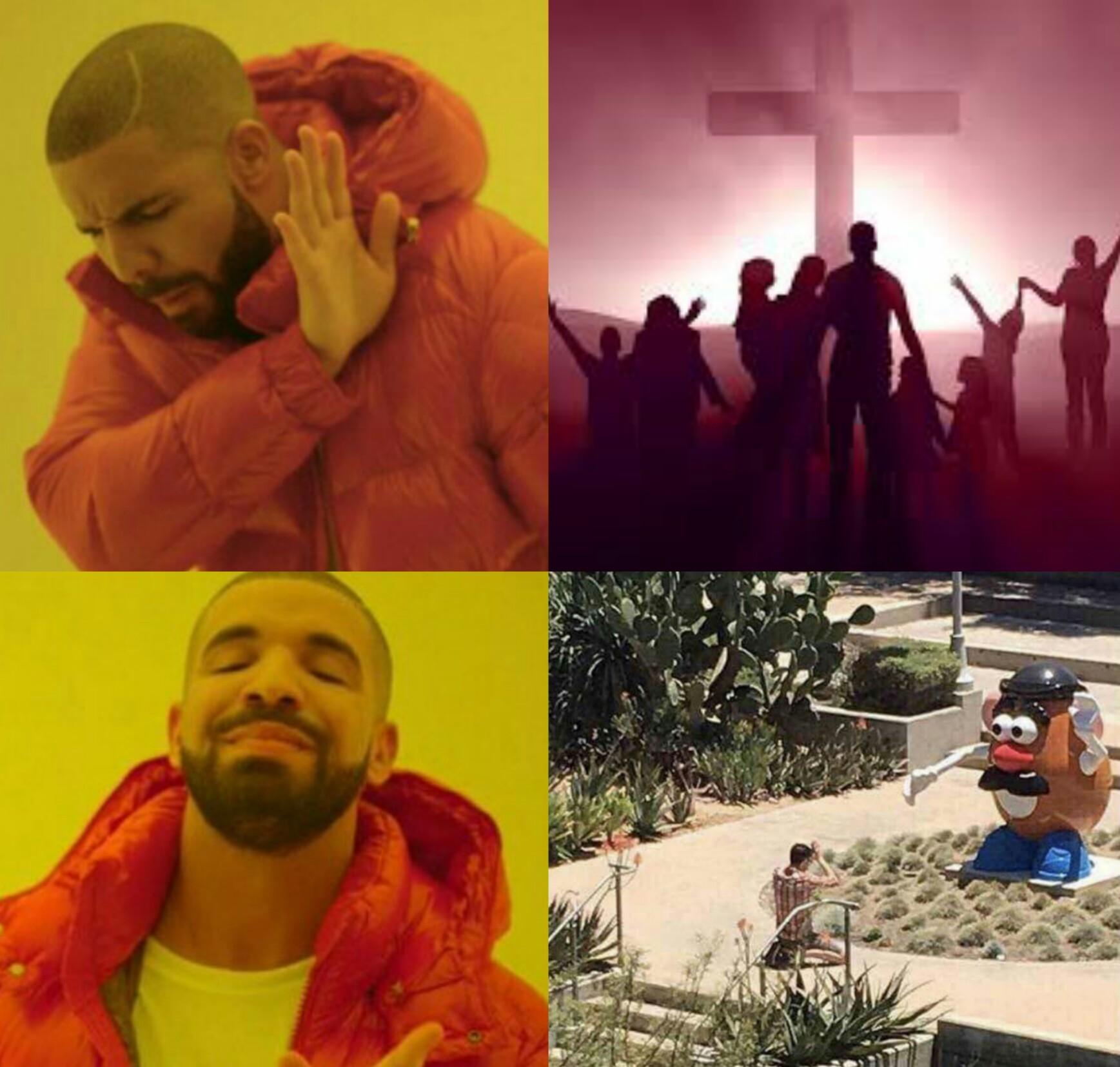Unanse a nuestra religión - meme