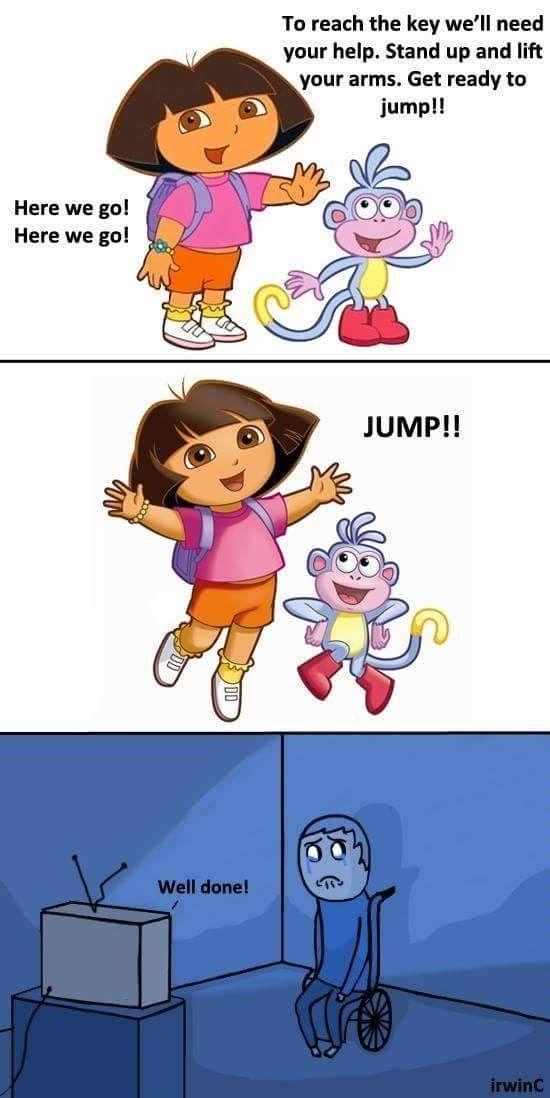 Stupid Dora - meme