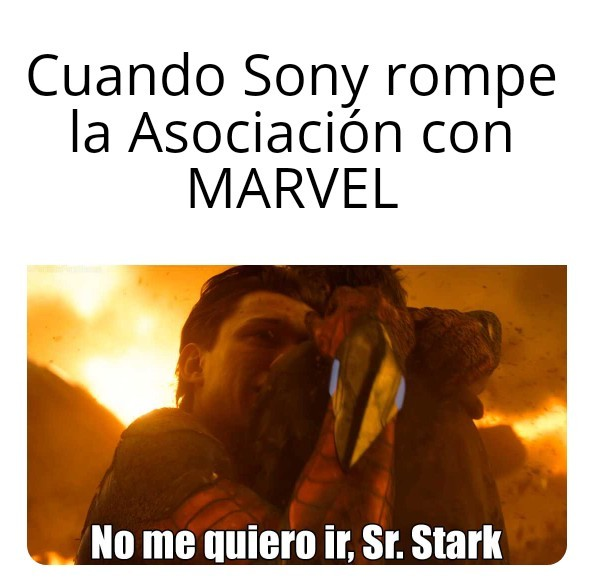 Marvel vs Sony - meme