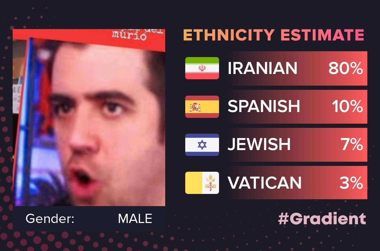 Auron es iraní - meme