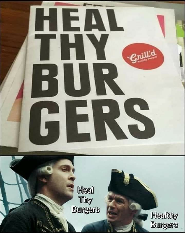 Heal thy burgers!!! - meme