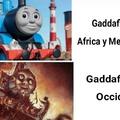 Gaddafi no hizo nada malo