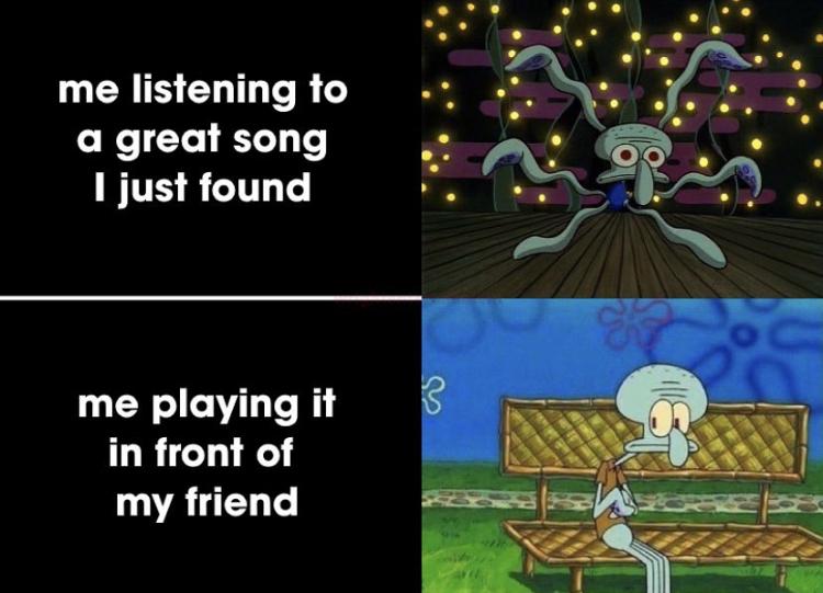 I love being shy - meme