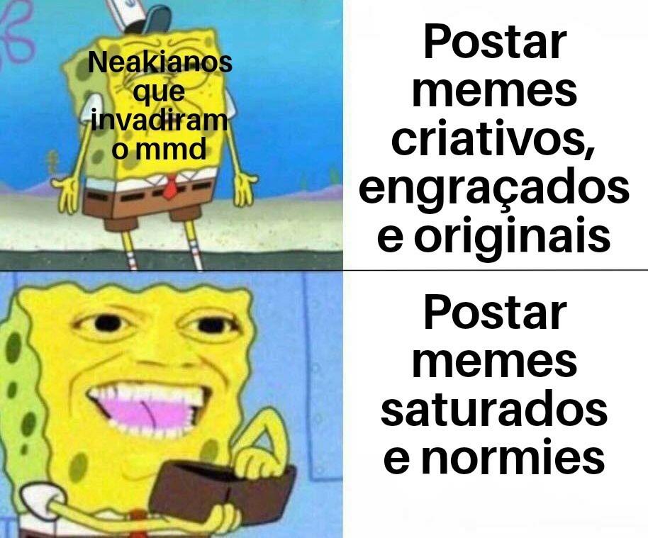 Atenção novatos, parem de postar memes e esperem pra ver como a comunidade é antes