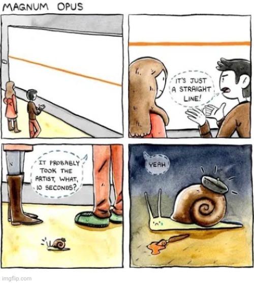 Poor snaily - meme