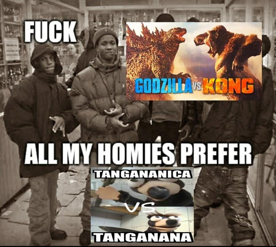 team Tangananica - meme
