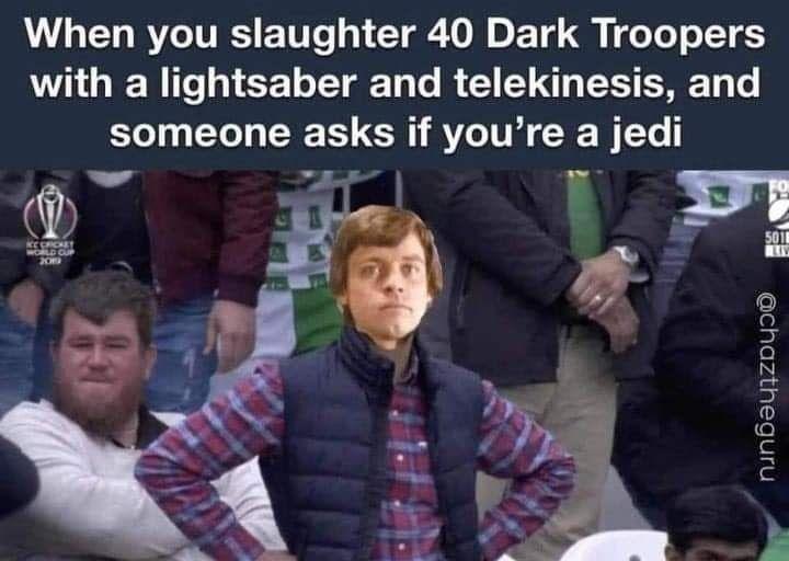 title is a Jedi - meme