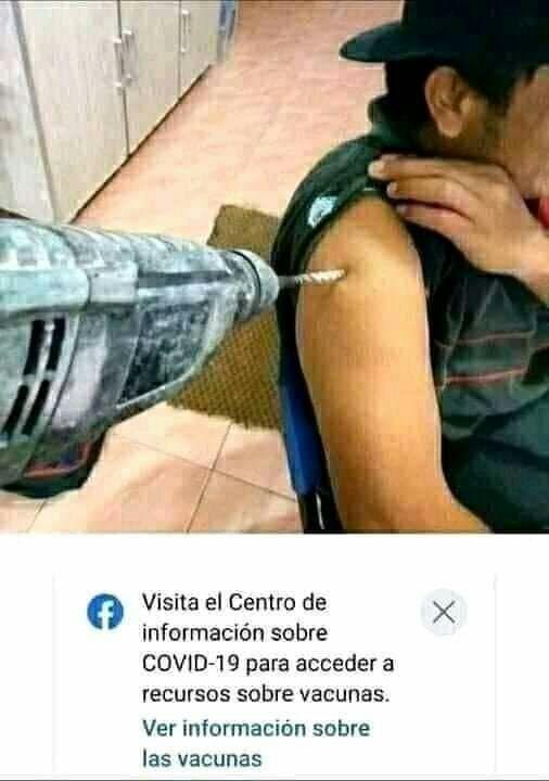 El 18 de este mes me vacunan :) - meme