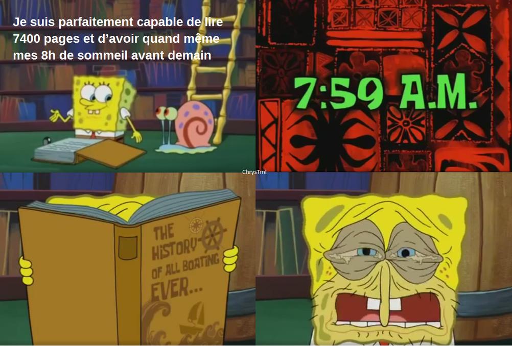 La veille de chaque examen... - meme
