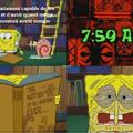 La veille de chaque examen...