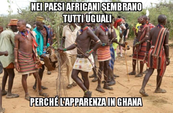 Per chi non lo sapesse il Ghana è uno stato dell'Africa Occidentale - meme
