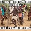 Per chi non lo sapesse il Ghana è uno stato dell'Africa Occidentale