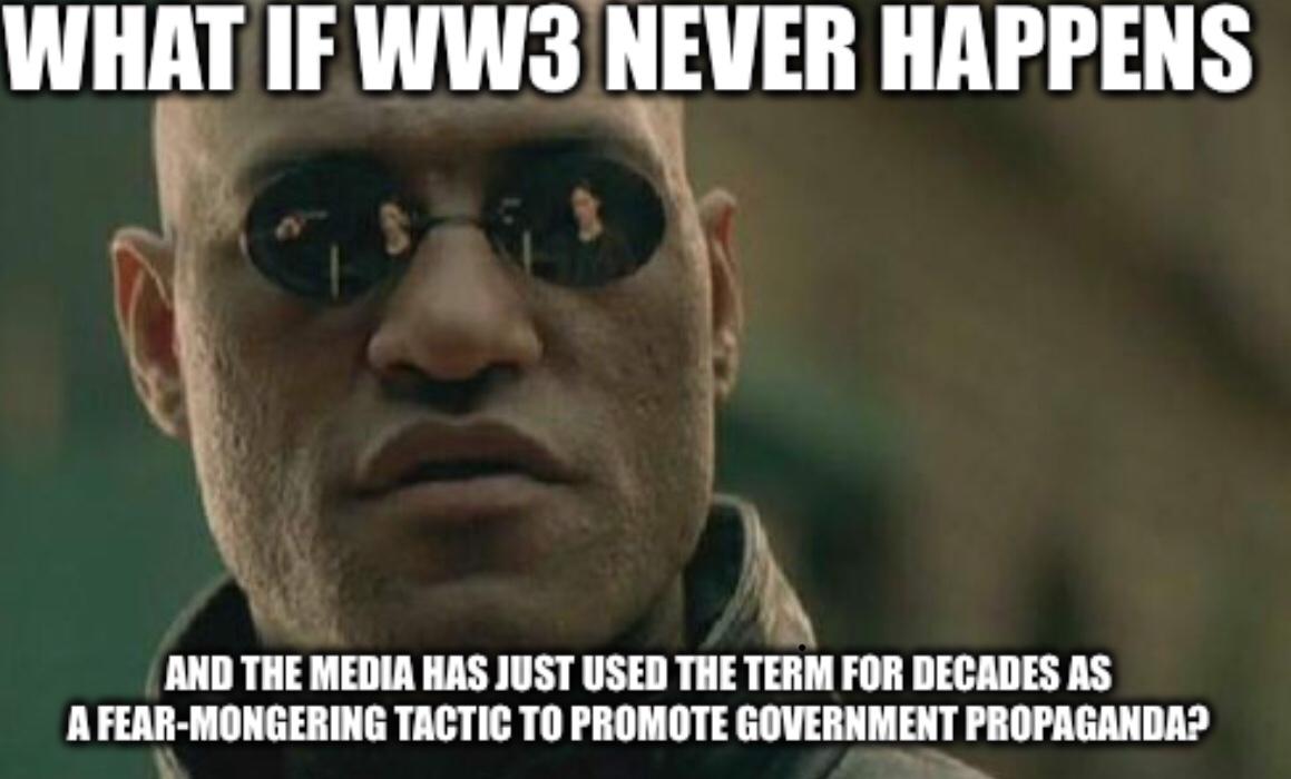 WW3 scare... again? - meme