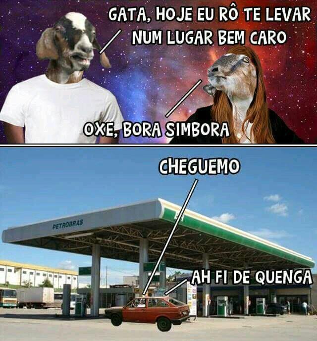 Gasolina vei - meme