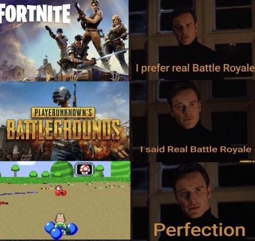 The REAL Battle Royal - meme