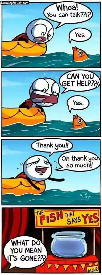 Fishy - meme