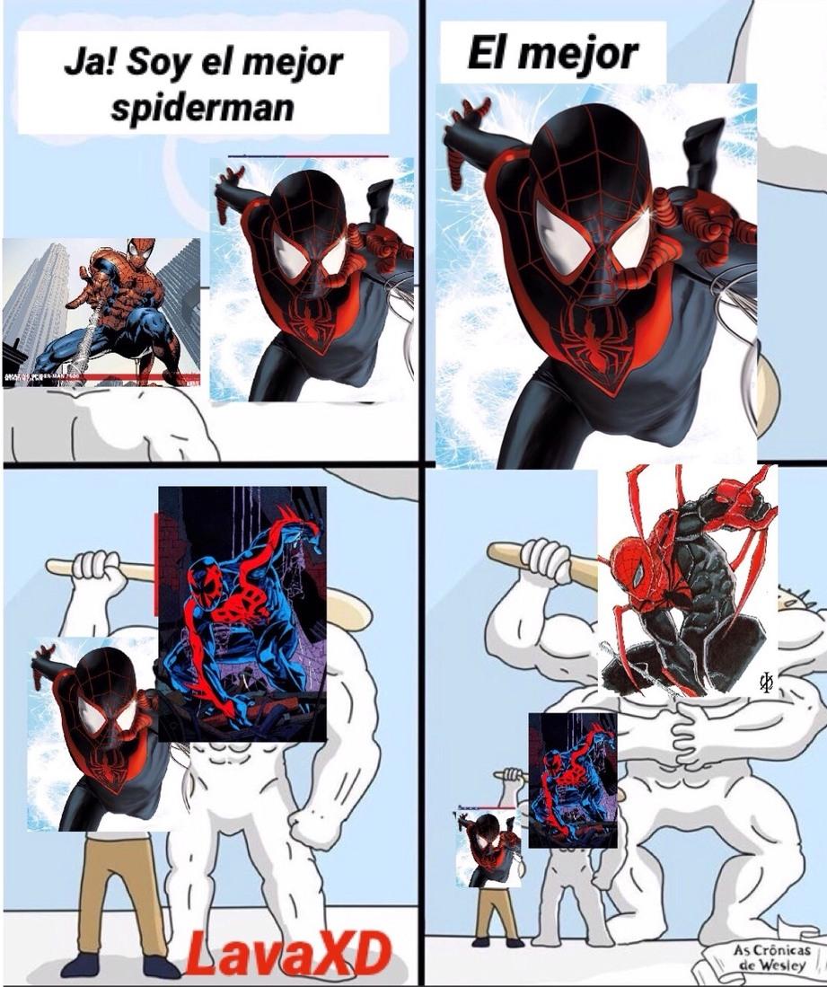 esta mas chido spiderman noir - meme