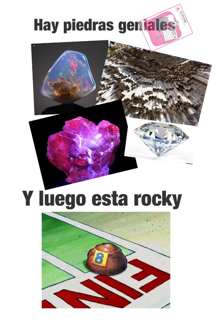 La mejor piedra - meme