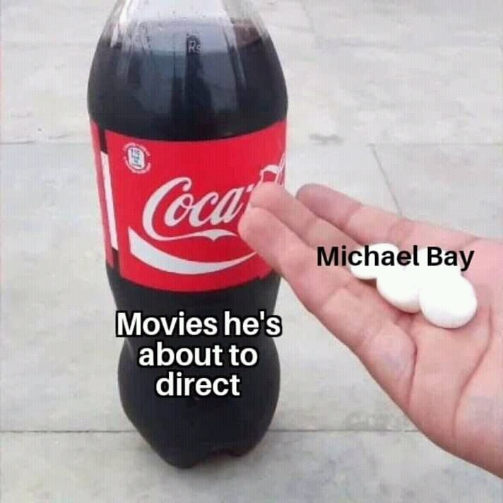 *insert explosions* - meme