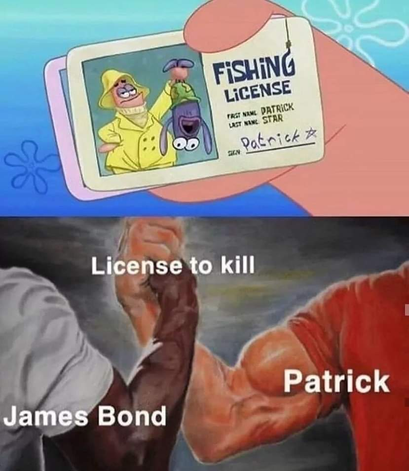 From bikini bottom with love - meme