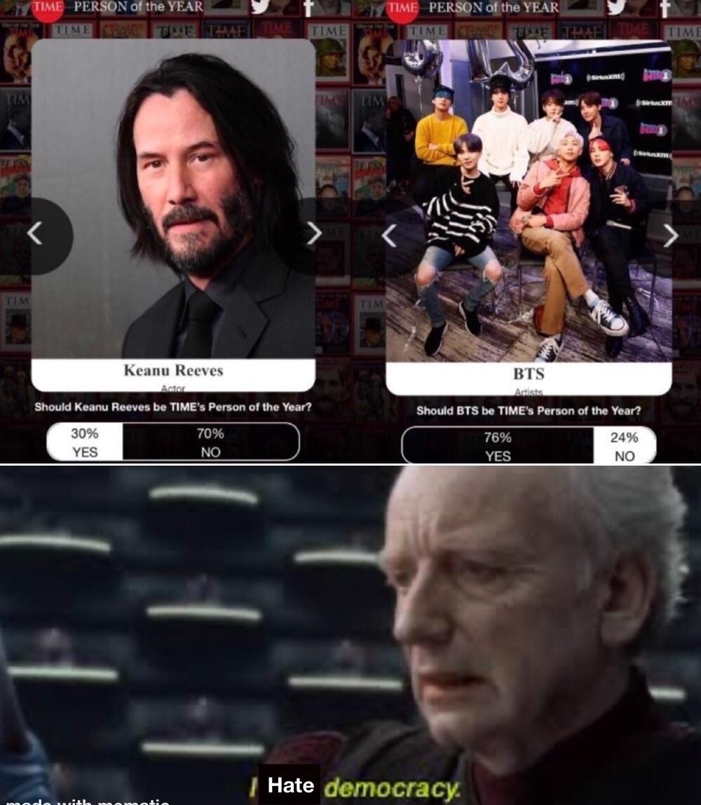 bts should be sacrificed to satan - meme