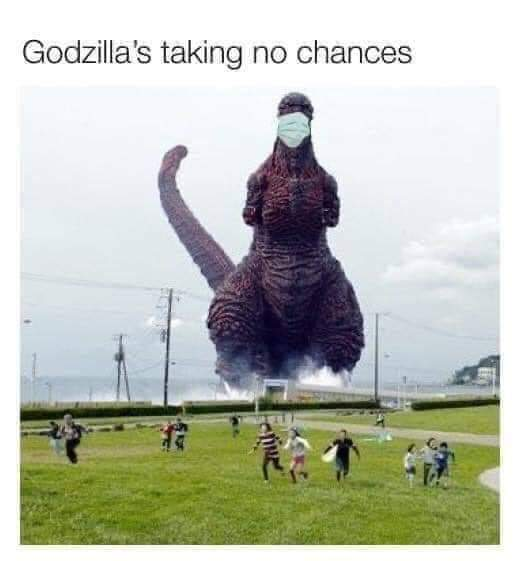 3rd comment has a Godzilla penis - meme