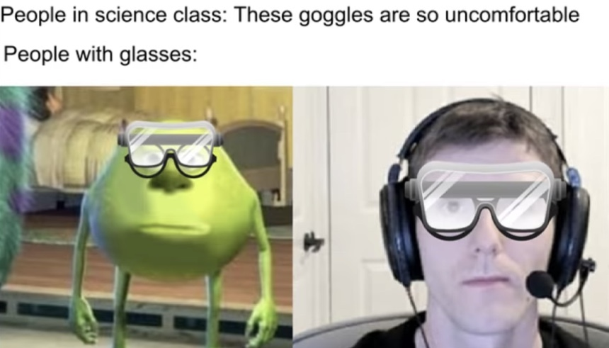 Glasses - meme