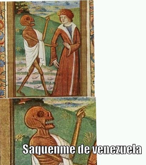 Saquenme de España - meme