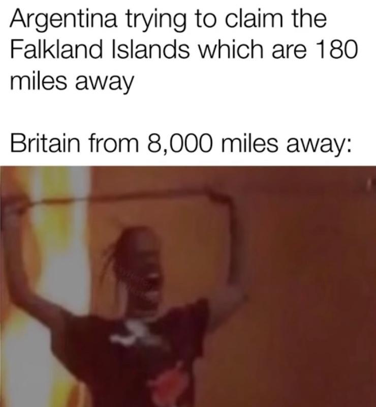 British are mad - meme