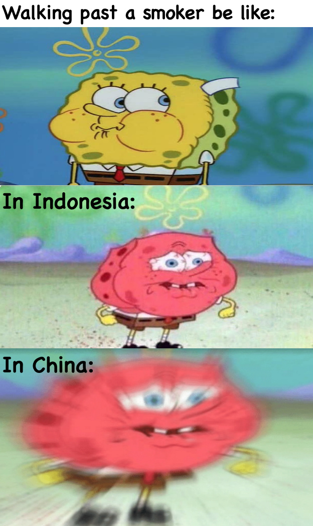 plus the air itself is pretty bad in China - meme