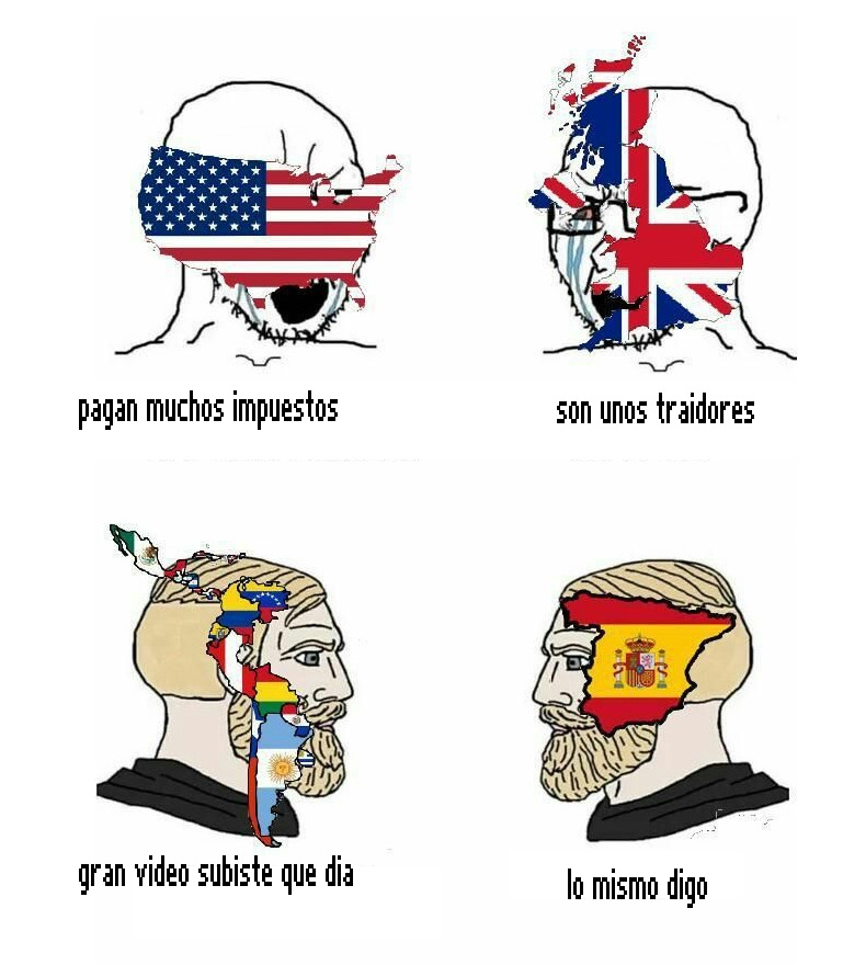 latinoamerica es grande - meme