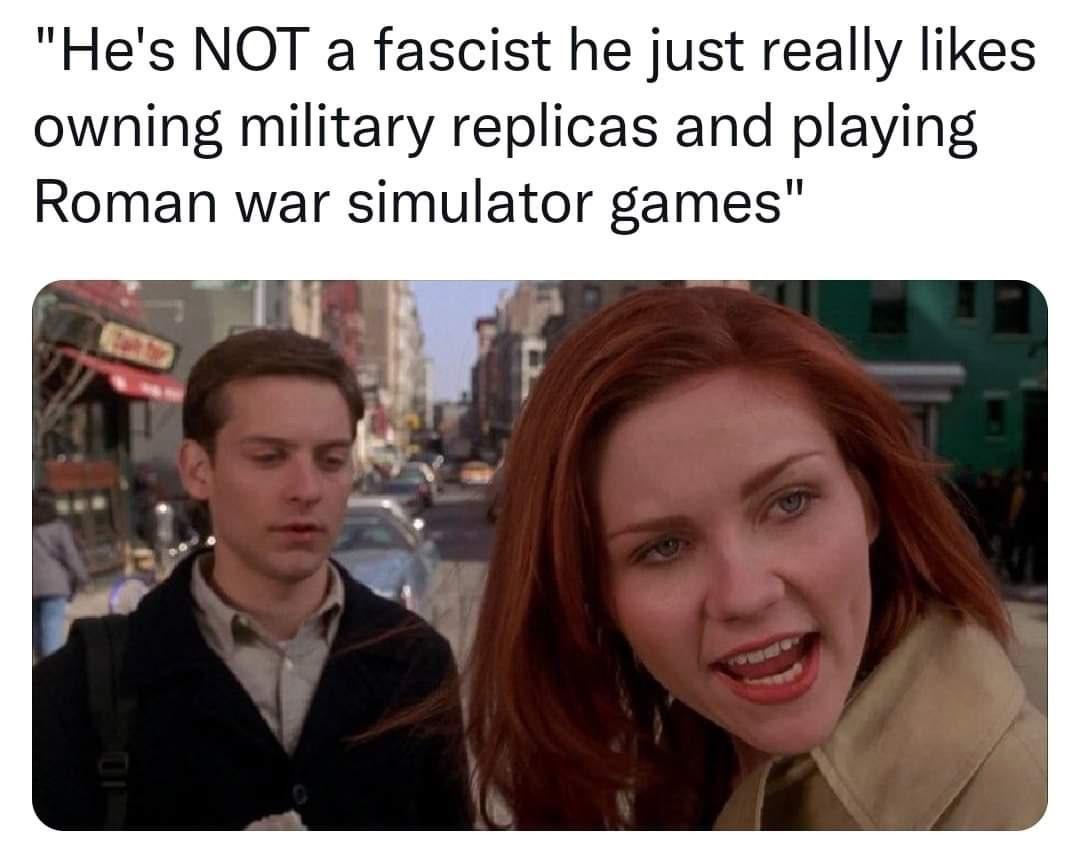dongs in a larp - meme