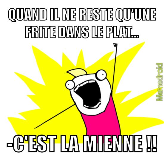 Frites... - meme