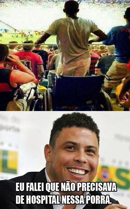 Copa fazendo milagres... - meme