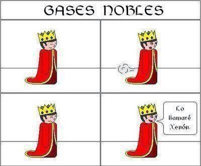 Gases nobles - meme