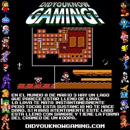 ¿Sabías qué en el Mundo de Mario...? - meme