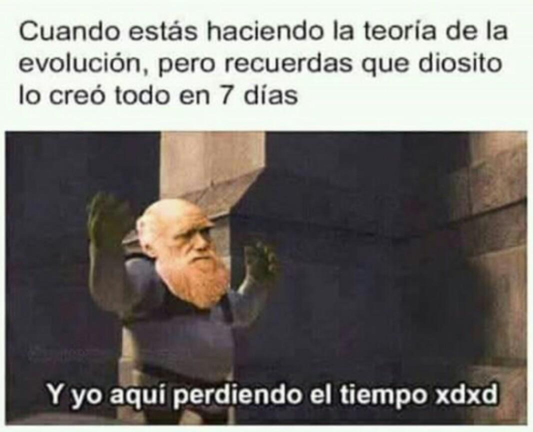 Charles Darwin. - meme