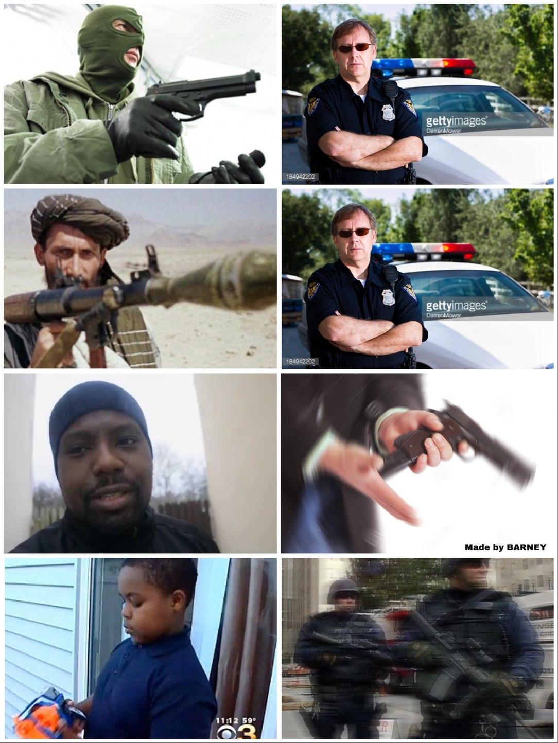 american police 2 - meme