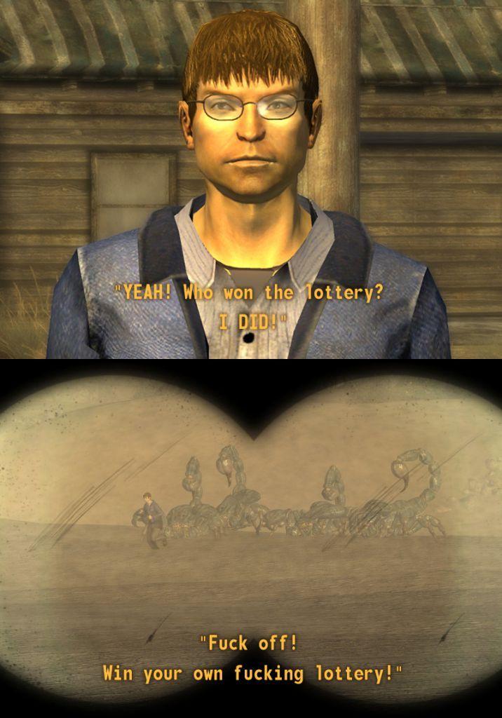 Fallout NV meme