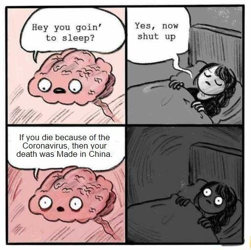 Killed by China - meme