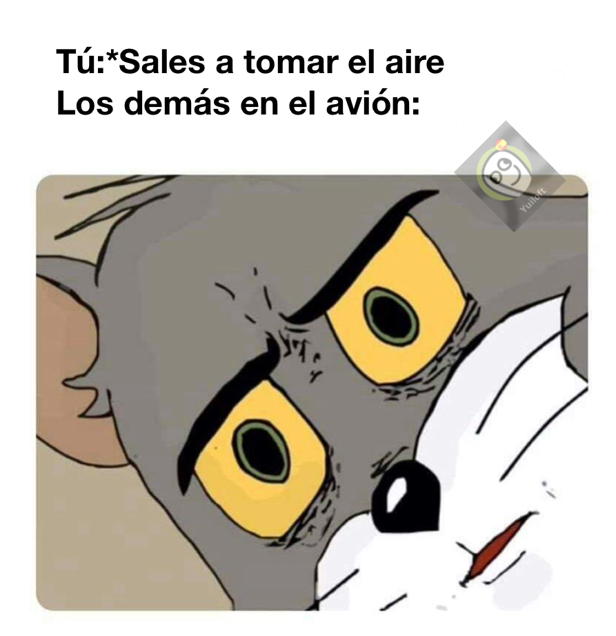 Accidente aéreo - meme